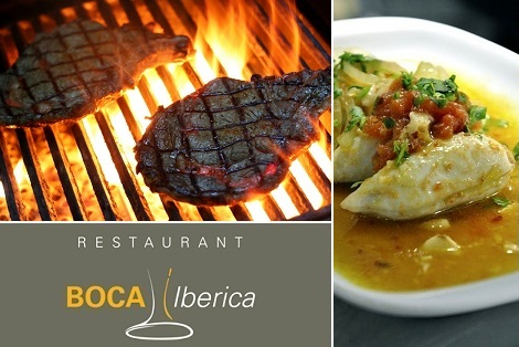 Side deal: 39$ for a 4 course menu for 2 persons at Boca Iberica (value up to $95)
