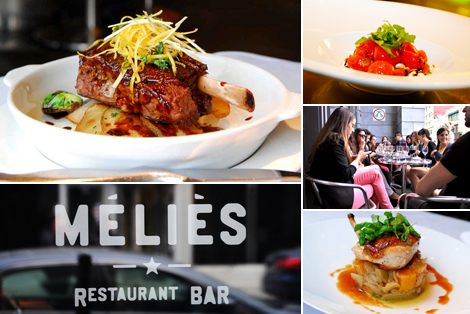 Side deal: 45$ for a three course meal for 2 persons at Café Méliès (value up to 100$)