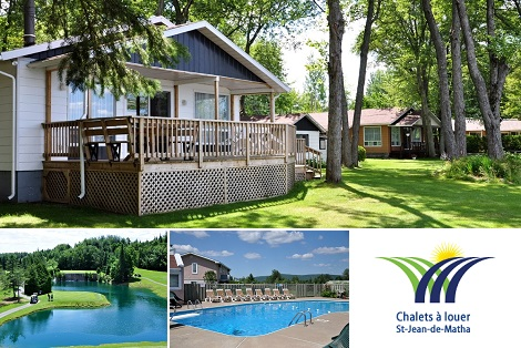 Side deal: 130$ for a night for up to 6 persons in a chalet of the CVC Lanaudière (value up to $260)